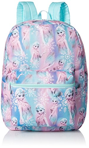 Price comparison product image Disney Little Girls Frozen Elsa Print Backpack,  Blue,  One Size