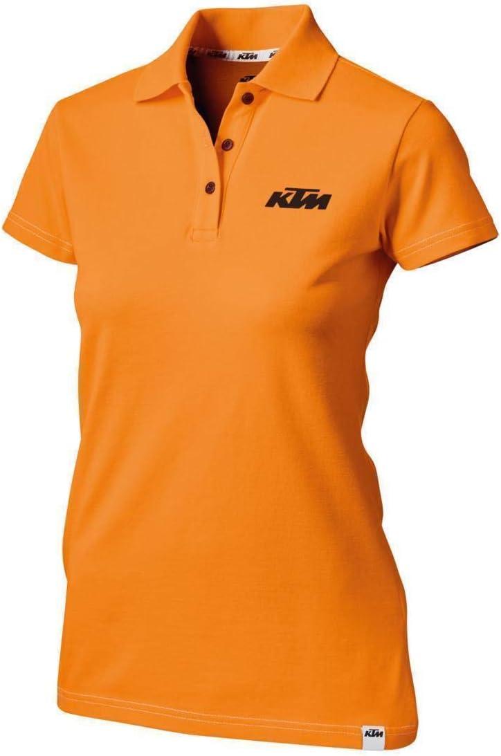 KTM Girls Racing Polo Orange M Original PowerWear: Amazon.es ...