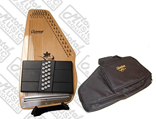 """Oscar Schmidt 21 Chord Autoharp w/ Gig Bag, The """"Appalachian"""", Maple Body, OS45C"""