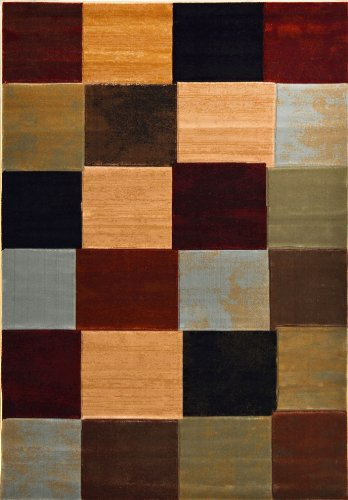 Home Dynamix  Evolution Collection  2 Hd809 999  Multi  52 X76   Area Rug
