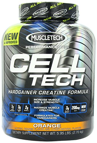 MuscleTech Performance Series Cell-Tech - Orange, 6.0 lbs (2.7 kg) (Muscletech Tech Cell)