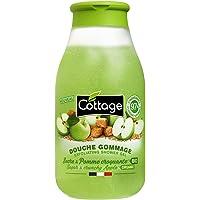 Douche peeling – suiker & knisperappel Bio – 97% ingrediënten van natuurlijke oorsprong.