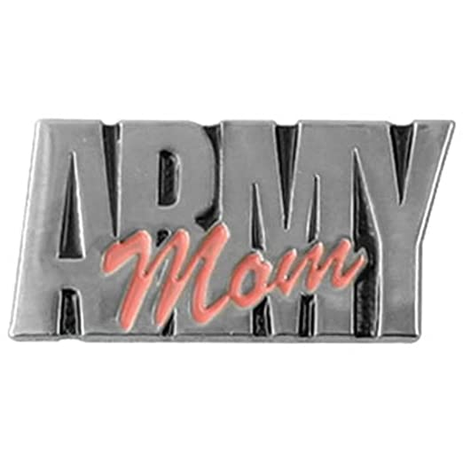 High Quality U.S. Army Mom 1u0026quot; Lapel Pin