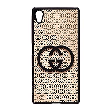 6f38b4c26dbe Gucci Logo Phone Case Bright Classic Gucci Logo Cell Phone Case Cover for  Sony Xperia Z5 Luxury Design  Amazon.co.uk  Electronics
