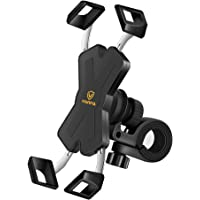 visnfa New Bike Phone Mount with Stainless Steel Clamp Arms Anti Shake and Stable 360° Rotation Bike Accessories/Bike…