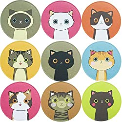 90 Lovely Kitty Cat Stickers for School Reward Sticker Classroom Decoration Party Favor 10 Sheets