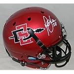 Marshall Faulk Autographed Signed Sdsu San Diego State Aztecs F/s Helmet -.
