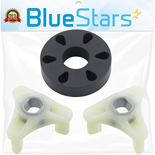 Ultra Durable 285753A Motor Coupling Kit Replacement by Blue Stars - Exact Fit for Whirlpool & Kenmore Washer - Enhanced Durability with Metal Reinforced Core