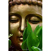 Golden Buddha Zen Portrait Journal: 150 Page Lined Notebook/Diary