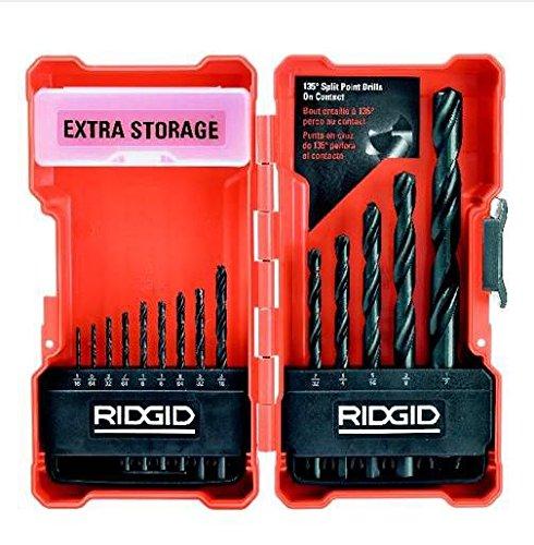 RIDGID Black Oxide 14-Piece Drill Bit Set AC10141