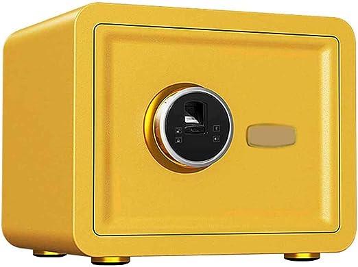 TQMB-A Caja Fuerte con la Huella Digital, el gabinete portátil Inicio/Viajes Pequeño Armario de Seguridad para mesita de Noche, Color Opcional,6: Amazon.es: Hogar