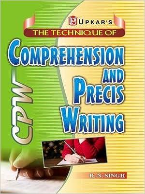 online precis writing test