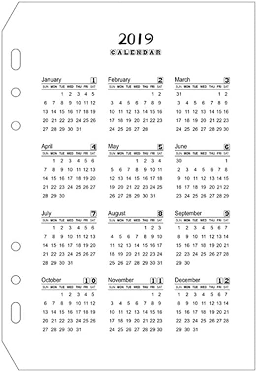 Calendario Calendarios de Escritorio Calendarios d Calendario 2019 ...