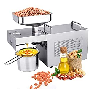Automáticas prensa de aceite de nueces Semillas Máquinas de ...