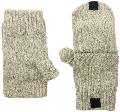 Fox River Mills Nylon Gloves - Fox River Men's Premium Ragg Glomitt, Brown Tweed, Small
