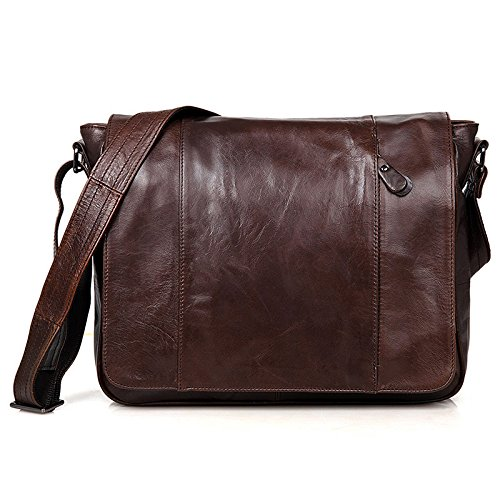 Bag Men's Satchel Handbag Retro Coffee Shoulder WftrBc