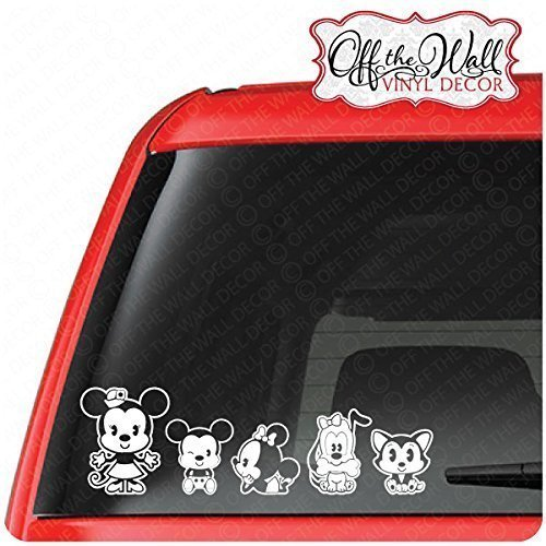 Customize-able Mickey & Minnie Cutie Family Vehicle Car Truc