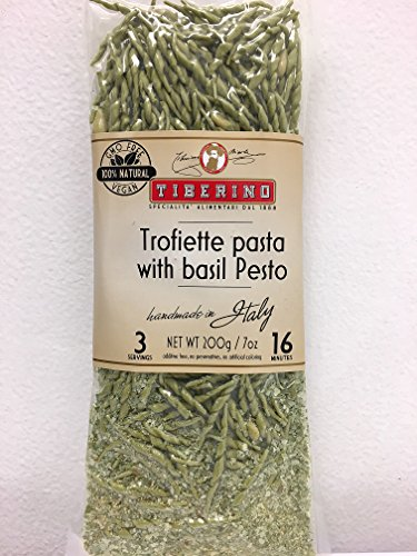 Tiberino's Real Italian Meals - Trofiette pasta with basil pesto by Tiberino