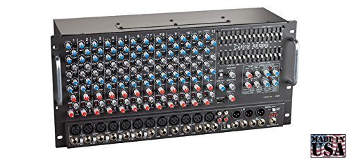 Carvin Audio RX1200R Non Powered 12 Channel Rackmount Stereo Mixer