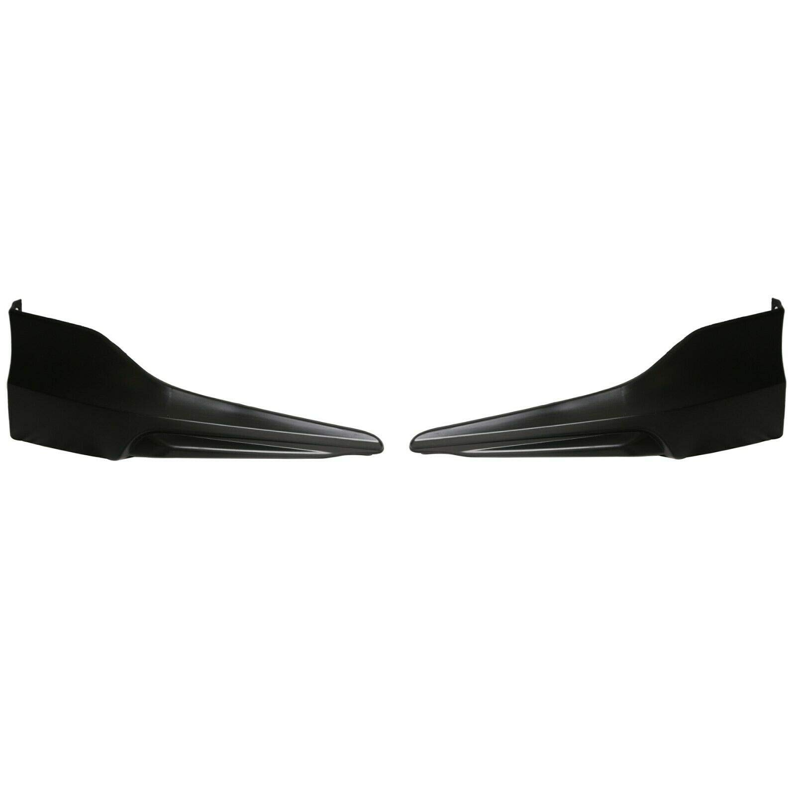 2PC HFP Style Front Bumper Lip Underbody Spoiler Splitter for 2016-2017 Honda Accord 4 Door