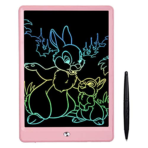 Ansel LCD Writing Tablet 10 Inch Drawing Tablet for Kids, Colorful Screen Doodle Board and Kids Drawing Pad for Ages 2+ (Tablet Drawing)