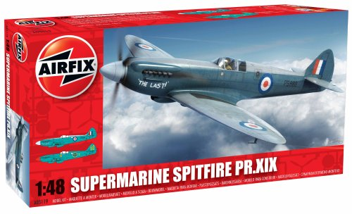 Airfix 1:48 Supermarine Spitfire PRXIX Aircraft Model Kit