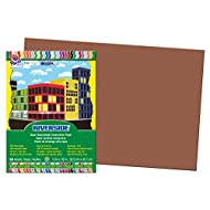 Pacon Construction Paper, 12-Inches by 18-Inches, 50-Count, Brown (103629)