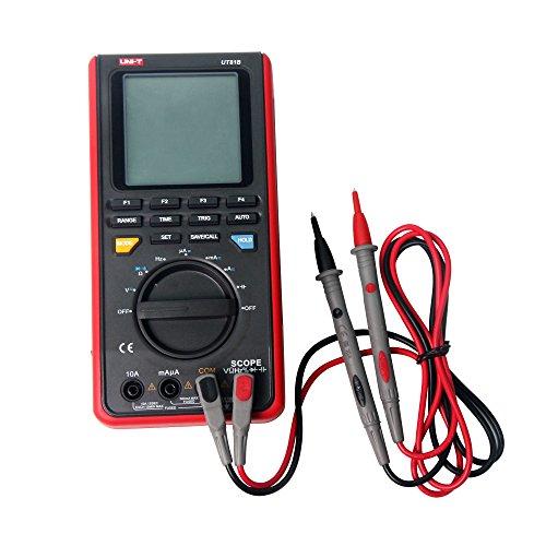 Oscilloscope and digital voltmeter