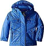 Kamik Winter Apparel Girls Minnie Solid Insulated Jacket, Iris, 8