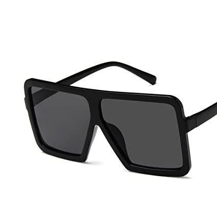 109974d50160 Fashion Big Square Shape Women Men Sunglasses UV400 Eyewear Sunglasses Hip  Hop All-Match Sun Glasses PC Frame Resin Lens: Amazon.ca: Home & Kitchen