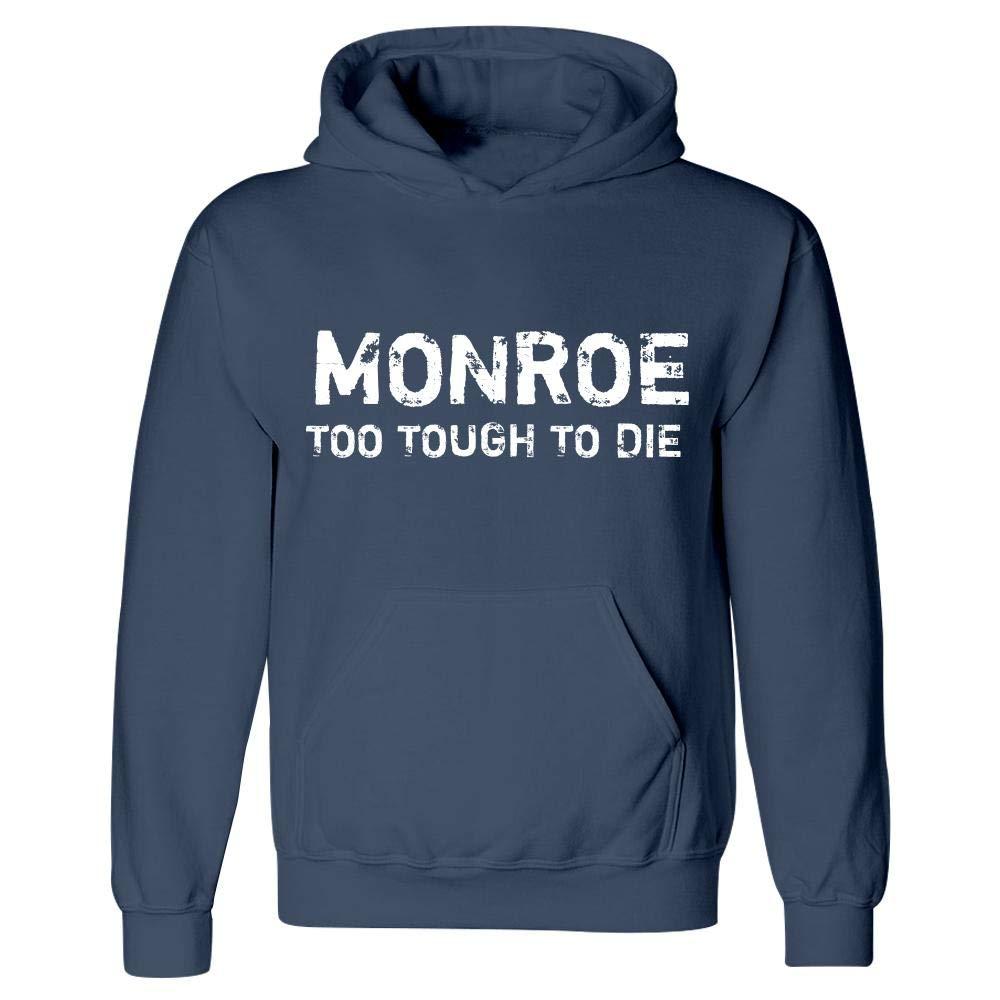 Monroe Too Tough to Die Hoodie Navy
