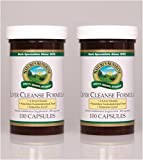 Nature's Sunshine Liver Cleanse Formula 100 Capsules (Pack of 2)