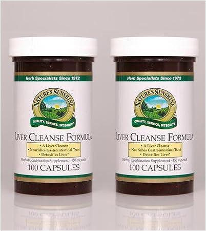 Amazon Com Nature S Sunshine Liver Cleanse Formula 100 Capsules