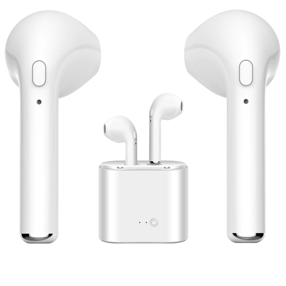 JJKJ Bluetooth Headset, Wireless Headset/Sports Headphones Headphones Mini Headphones Compatible with Smart Phone Stereo Headphones