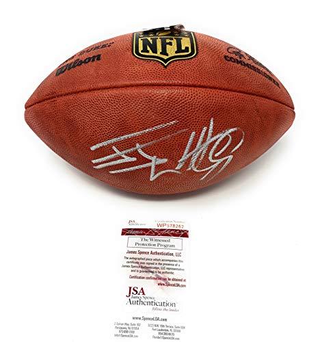 (JJ Watt Houston Texans Signed Autograph Authentic NFL Duke Football Watt Player Holo JSA Witnessed Certified)