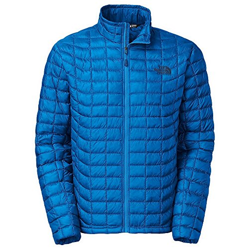 The North Face Men's Thermoball Full Zip Jacket Bomber Blue XL (North Face Bomber)