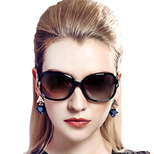 Duco Women's Stylish Polarized Sunglasses Star Glasses 100% UV Protection 2229 - Stylish Sunglasses Polarized