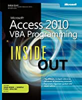 Microsoft Access 2010 VBA Programming Inside Out Front Cover