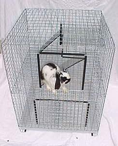 Rabbit Condo Cage