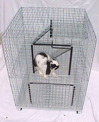BUNNYRABBIT com Rabbit Condo Cage