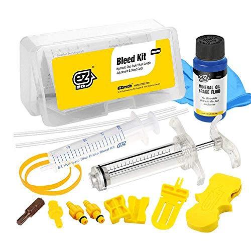 Revmega Hydraulic Mineral Disc Brake Bleed Kit Tool for Magura - Inc. 60ml Mineral Oil Fluid