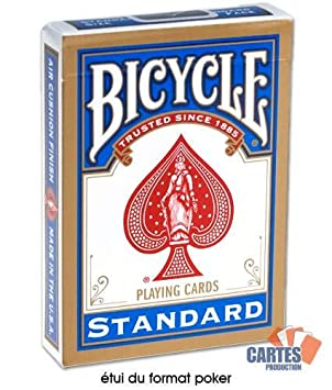 Juego de 54 cartas Bicycle Magie : Double Dos Rouge/Bleu ...