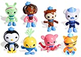 8 Pack Octonauts Cake Topper Figures Play Set