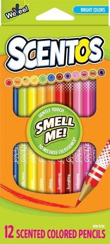 Scentos Scented Colored Pencils 40515