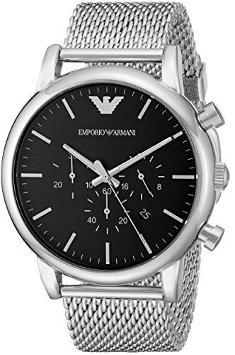 Emporio Armani Men's AR1808 Dress Silver - Watch Ar Armani