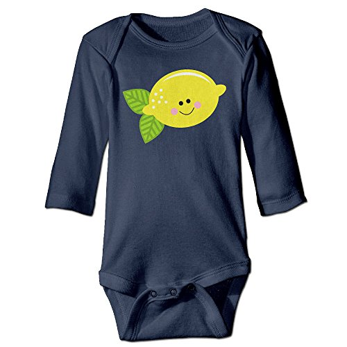 Love On Top Beyonce Costume - Baby Bodysuit Lemon Face One Piece Baby Long Sleeve Girl Jumpsuit 18 Months Navy