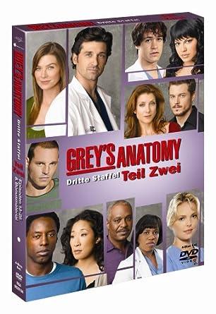 Grey\'s Anatomy - Die jungen Ärzte - Dritte Staffel, Teil 2 4 DVDs ...