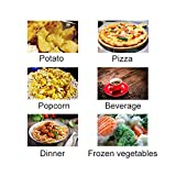 SMETA Microwave Oven Countertop with 6 Automatic