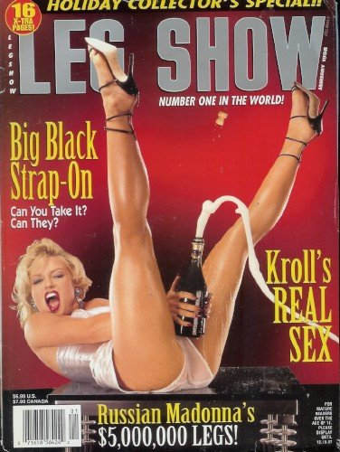 Leg Show Magazine - January 1998: Collector's Special! Smoking, Eric Kroll, Foot Fetish, and - Magazine Leg