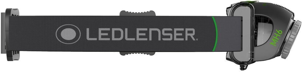Ledllenser MH6, Linterna LED de bolsillo Unisex adulto, Negro ...